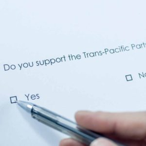 Trans pacific partnership, business